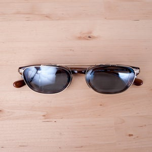 Image of Oliver Peoples x Soloist - s.0142 Tortoise Eyeglasses with Clip-On