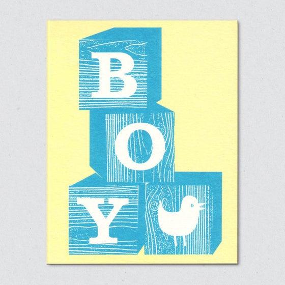 Image of Blocks, boy