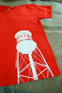 Image of water tower T-shirt