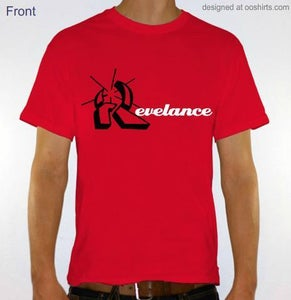 Image of Revelance Mens Red Tee