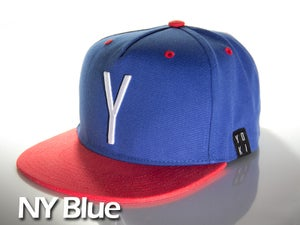 Image of NY Blue snap back cap