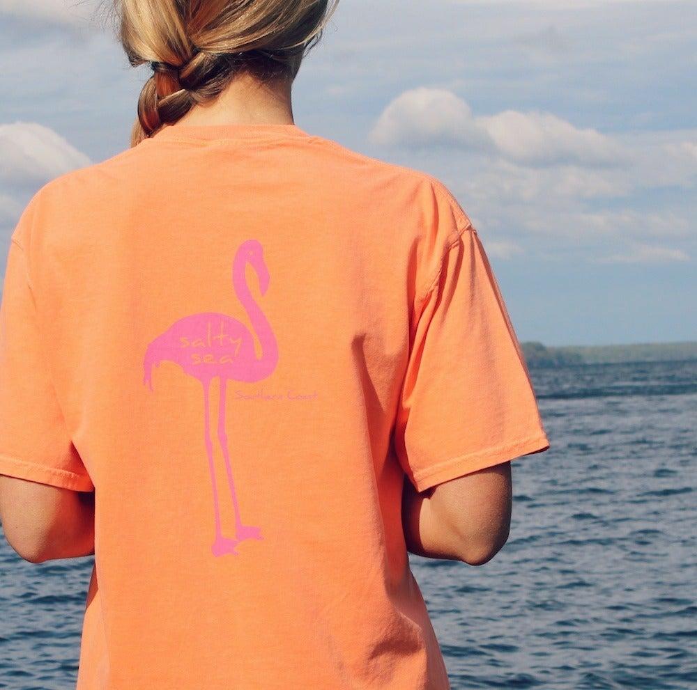 Image of Flamingo tee  - Melon