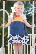 Image of Cow Girl Jessie Inspired Princess Dress