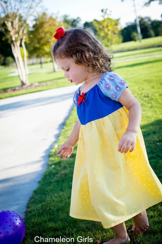 Image of Snow White Inspired Princess Dress