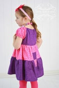 Image of Cheshire Cat Inspired Princess Dress