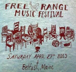 Image of 2013 Free Range Music Festival Tee (SALE PRICE)