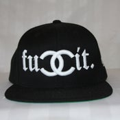Image of FUCCIT (BLACK) SNAPBACK