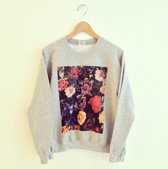 Image of Arrangement II Crewneck Sweatshirt (Black or Heather Grey)