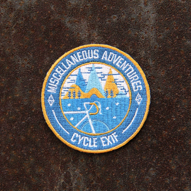 Image of Miscellaneous Adventures x Cycle EXIF Honor Patch