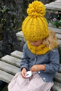 "Image of Ensemble bonnet ""Sacha ""& col ""Joy"", alpaga & laine"