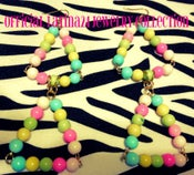 Image of Colorful Bubblegum Earrings