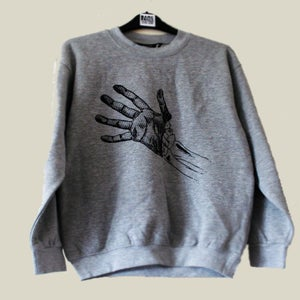 Image of Skin and Bones Limited Edition Grey Sweatshirt