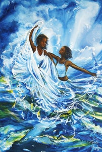 Image of Song of the Wind and the Waves - Canvass Print