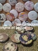 Image of Original Art/Manga Page Badges