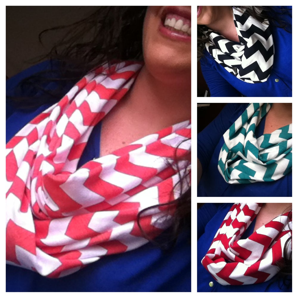 Image of Chevron Summer Scarf