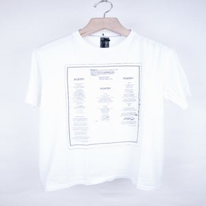Image of Number (N)ine - Poetry Tee