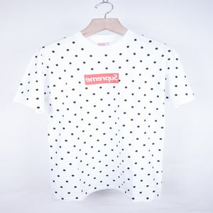 Image of Supreme x Comme Des Garcons Shirt - Dot Print tee