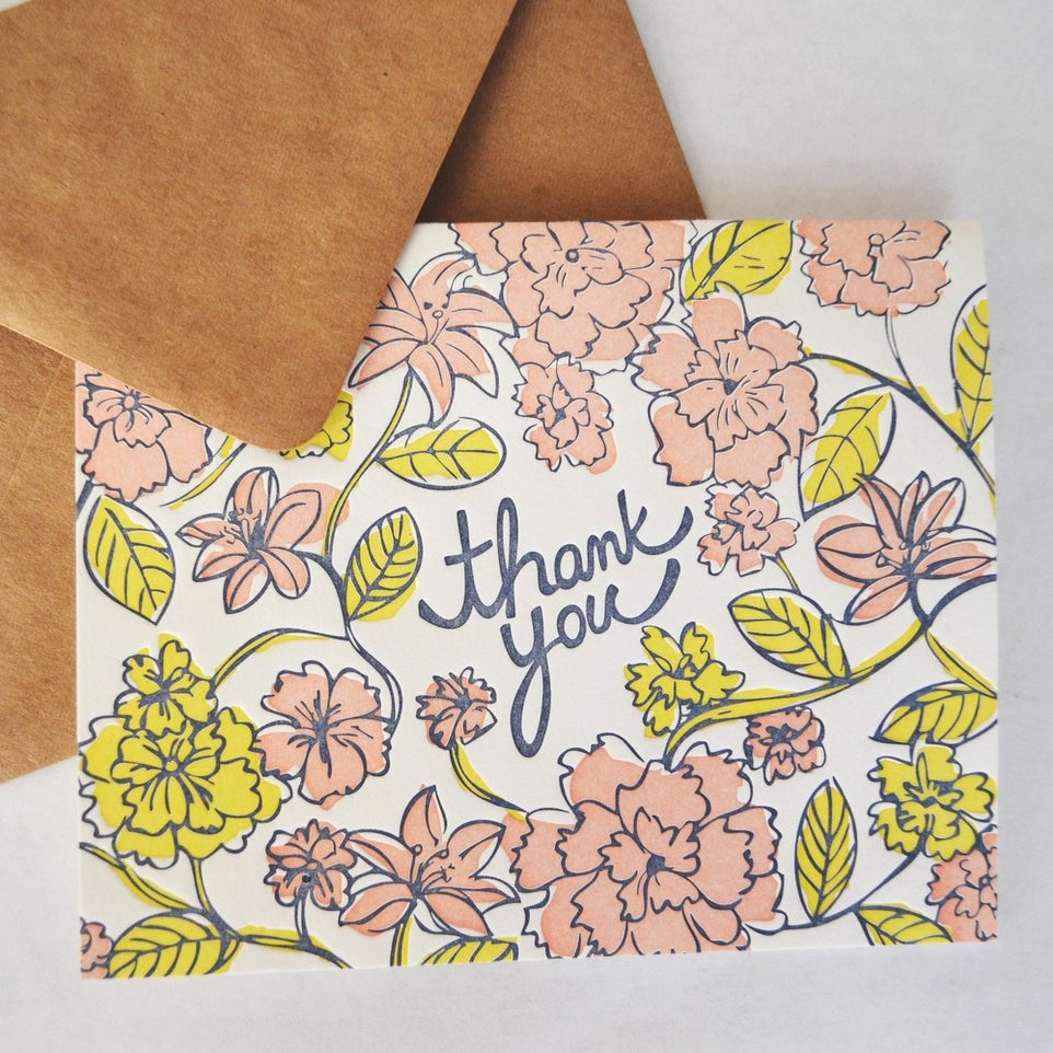 Image of FLORAL CARD no. 1
