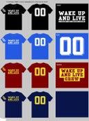 "Image of Wake Up and Live ""00"" Shirt"