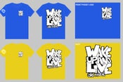 """Image of Wake Up and Live """"street"""" shirt"""