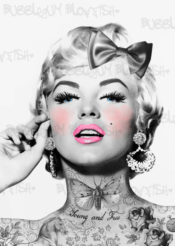 Image of Marilyn Monroe Digital Art Download