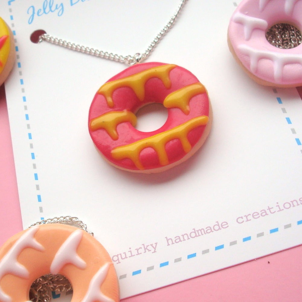 Image of Party Ring Necklace