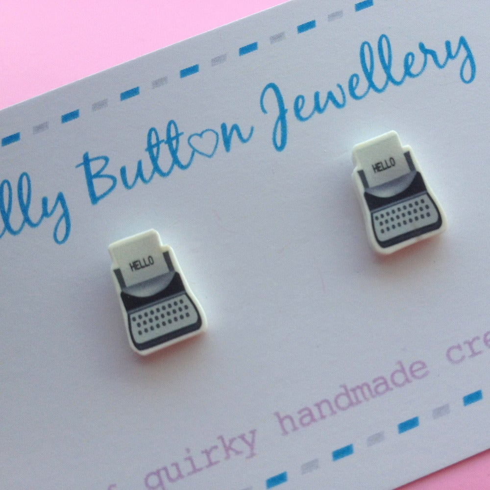 Image of Mini TypeWriter Earrings