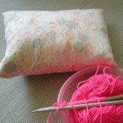 Image of Pop and pink owls cushion