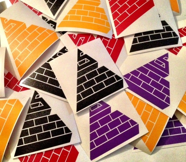Image of Stealth Logo Vinyl Die-Cut Stickers