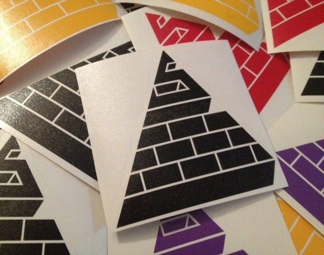 Image of Stealth Logo Vinyl Die-Cut Stickers