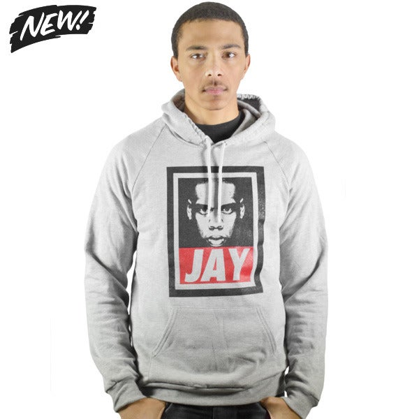 Image of  Jay Heather Grey Hoodie (UNISEX)
