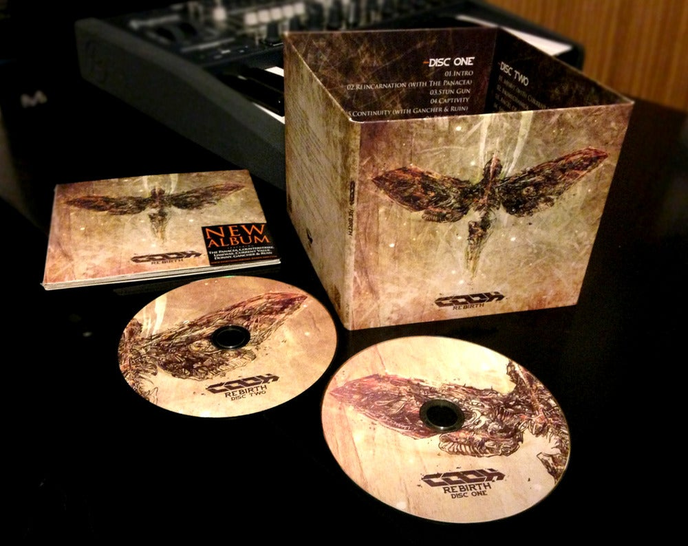 Image of COOH - ReBirth ALBUM (DIGIPACK with 2 CDs) FREE SHIPPING