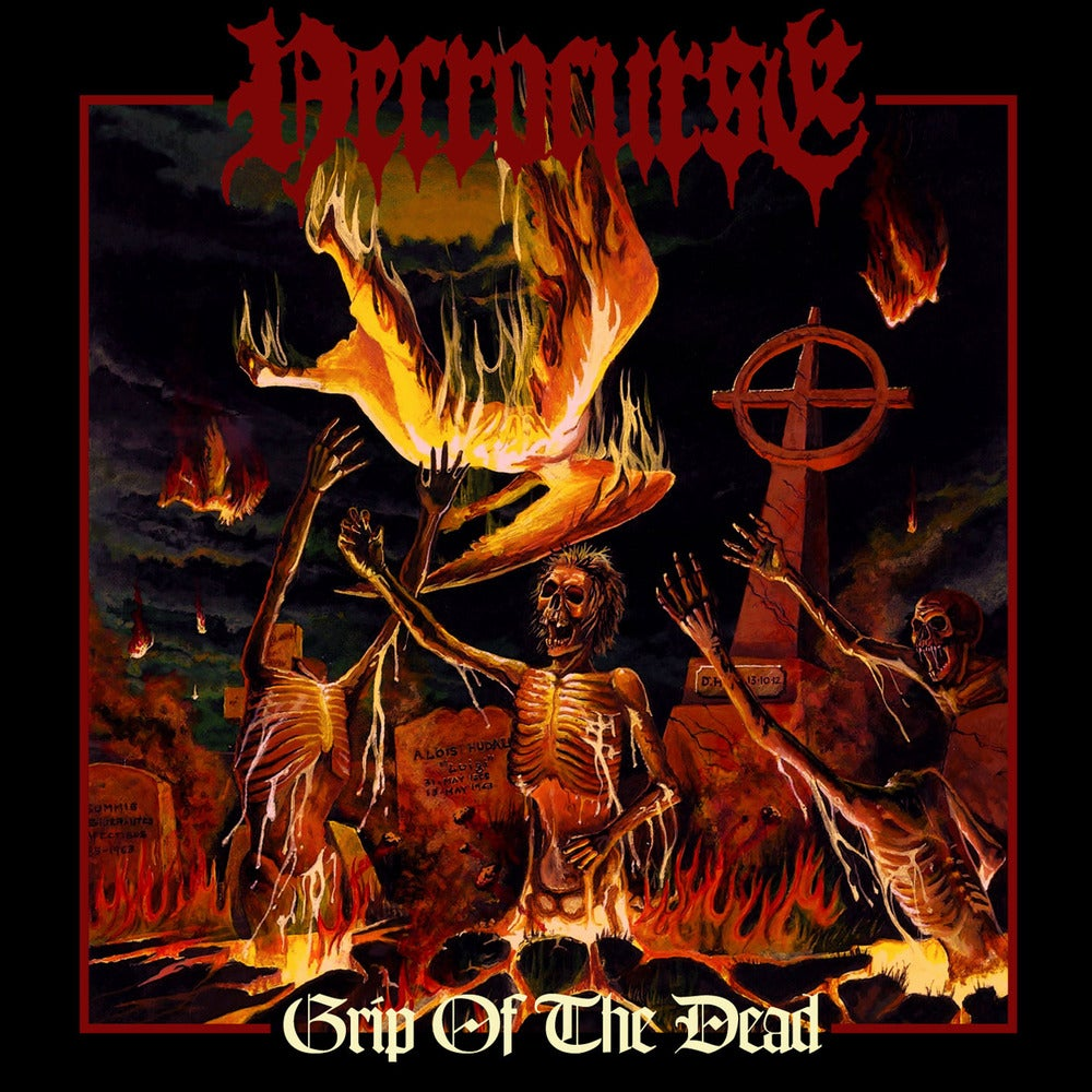 "Image of NECROCURSE ""Grip Of The Dead"" CD"