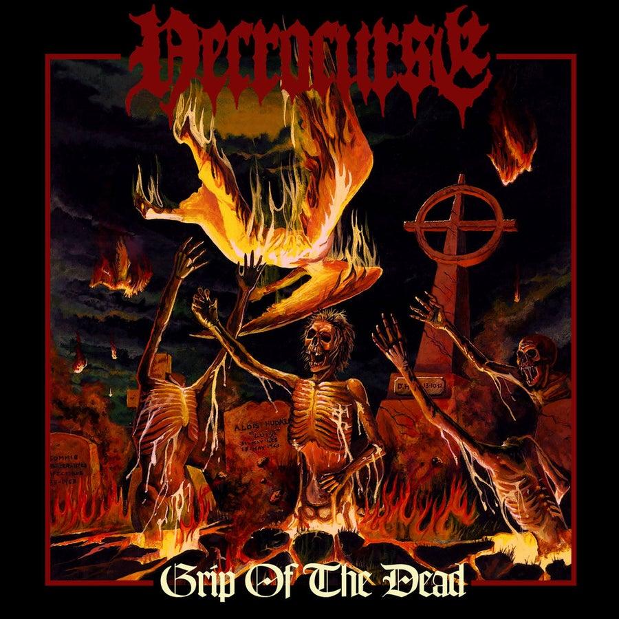 "Image of NECROCURSE ""Grip Of The Dead"" CD"