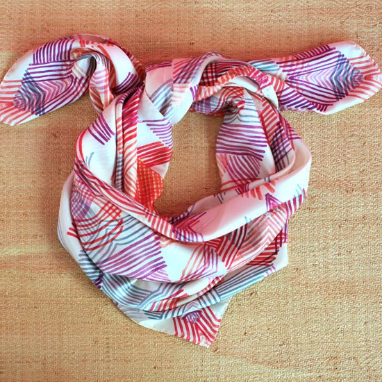 Image of FOULARD K / rose