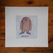 Image of Yeti, print - The Igloo Collection # 7