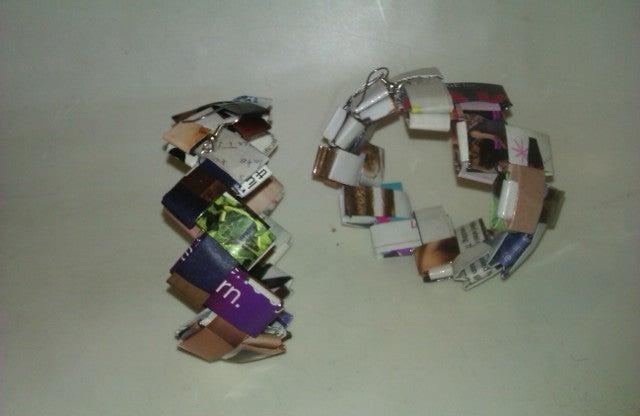 Image of Magazine Hoop Earrings
