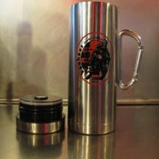 Image of 16oz Metal Carabiner Travel Mug