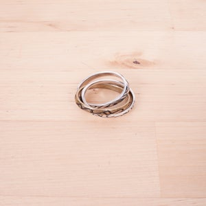 Image of Number (N)ine - Interlocked Ring Set