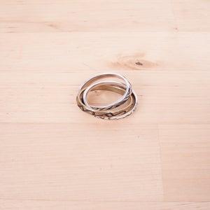 Image of Number (N)ine - Interlocked Ring Set