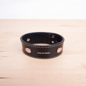 Image of Undercover - Less But Better Leather Cuff