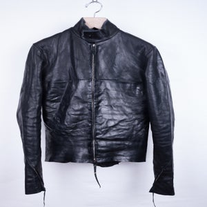 Image of M.A.+ - Horse Leather Rider's Jacket