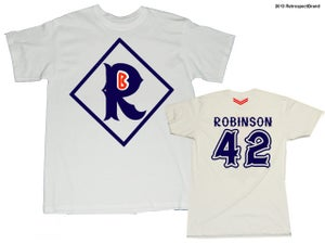 """Image of Jackie """"R""""obinson tee from """"R""""etrospect"""