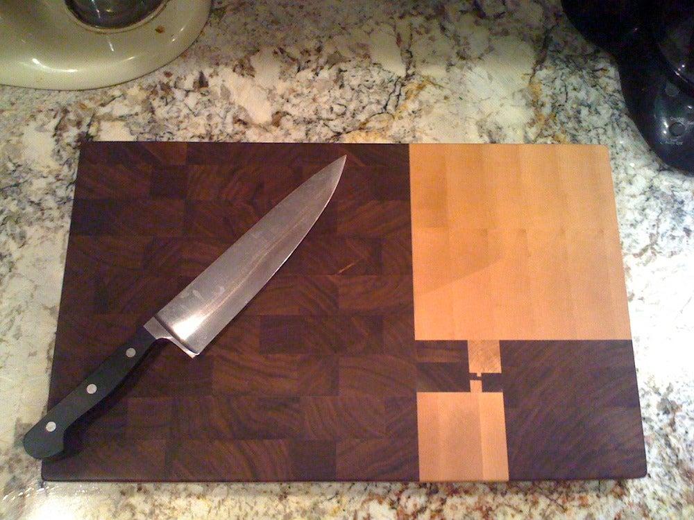 Image of Fibonacci Cutting Board