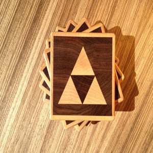 Image of Triforce Coasters