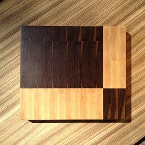 Image of Geometric End Grain Cutting Board