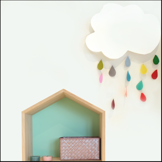 Image of Cloudy Felt / Nube de fieltro (IVA INCL.)