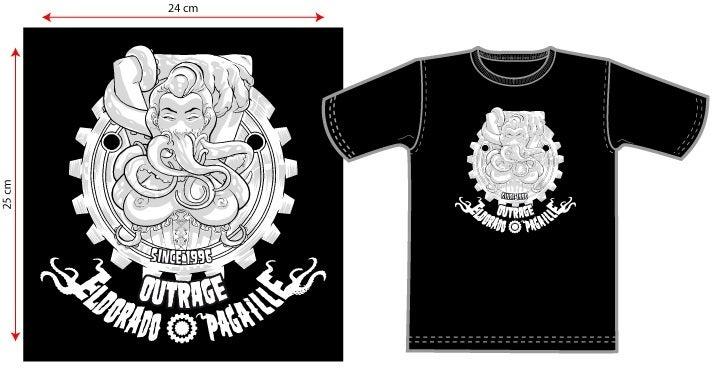 Image of T-Shirt Noir Eldorado Pagaille