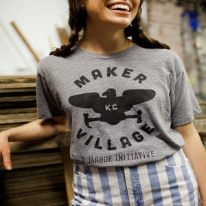 Image of Maker Village Logo T