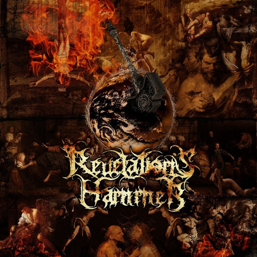 "Image of REVELATION'S HAMMER ""Revelation's Hammer"" CD / LP"